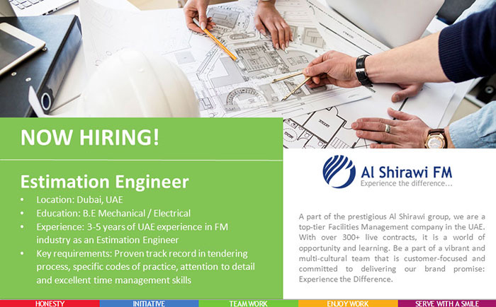 Estimation Engineer ASFM